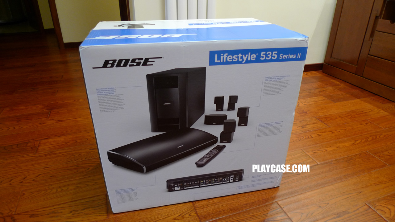 bose lifestyle 535ii 完工篇